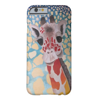 Bold and Quirky Giraffe Design Barely There iPhone 6 Case