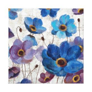 Bold Anemones Canvas Print