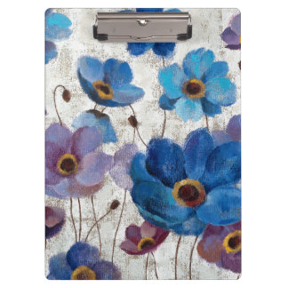 Bold Anemones Clipboard