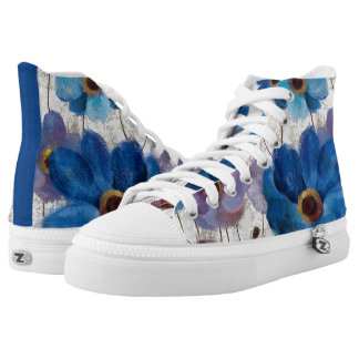 Bold Anemones High Tops