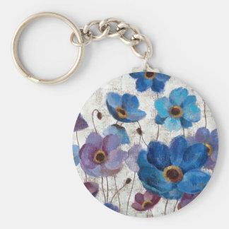 Bold Anemones Keychain
