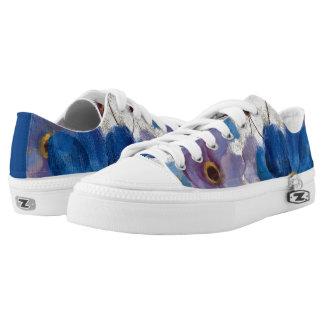 Bold Anemones Low-Top Sneakers