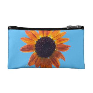 Bold Autumn Beauty Sunflower Makeup Bag