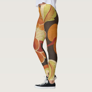 Bold Beautiful and Textured Look Leggings