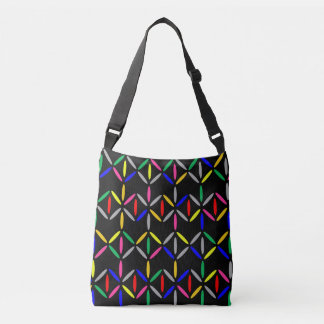 Bold black bag bright colourful