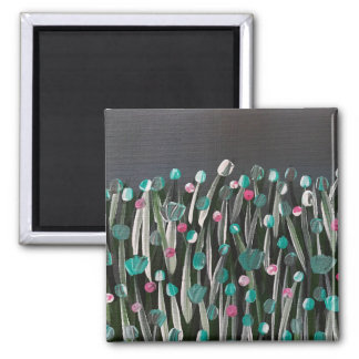 Bold Blooms Magnet
