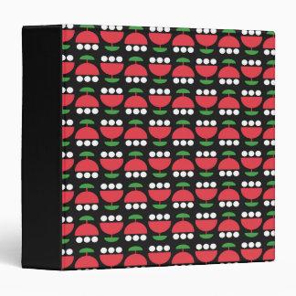 Bold Blooms Vinyl Binder