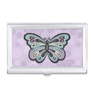 Bold Butterfly business card holder