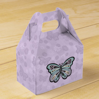 Bold Butterfly favor box