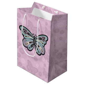 Bold Butterfly gift bag