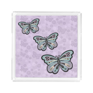 Bold Butterfly tray