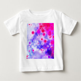 Bold & Chic Blue Pink Watercolor Abstract Baby T-Shirt