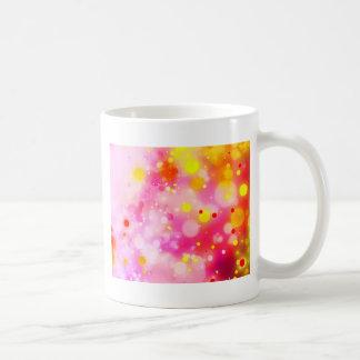 Bold & Chic Fuchsia Pink Watercolor Abstract Coffee Mug