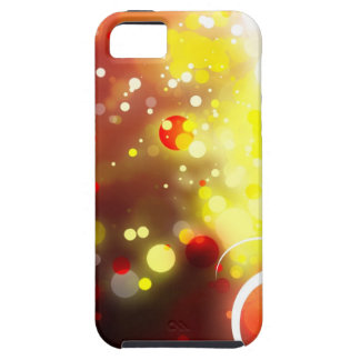 Bold & Chic Peach Red Yellow Watercolor Abstract Case For The iPhone 5