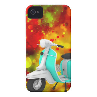 Bold & Chic Scooter Watercolor Abstract iPhone 4 Case-Mate Case