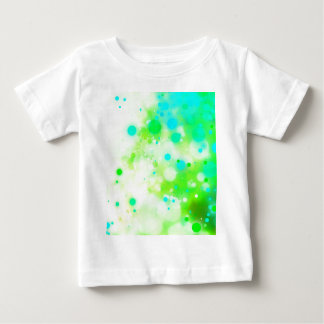 Bold & Chic Teal Green Watercolor Abstract Baby T-Shirt