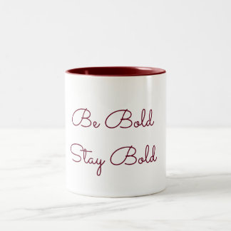 Bold Coffee Two-Tone Coffee Mug