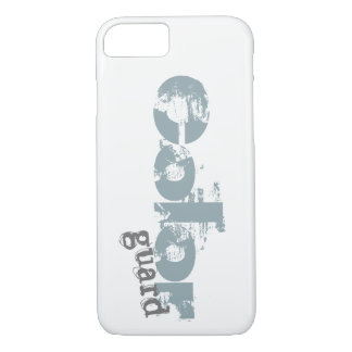 Bold Color Guard Typography Design iPhone 8/7 Case