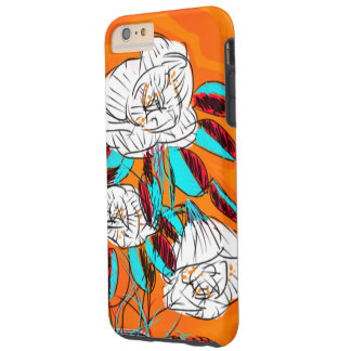 Bold, Colorful, Floral phonecase Tough iPhone 6 Plus Case