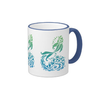 Bold Colorful Summery Fancy Fish Tees and Gifts Mugs