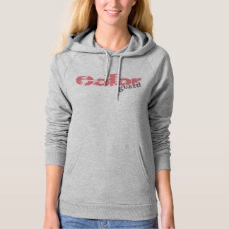 Bold Colorguard Text Design on Hoodie