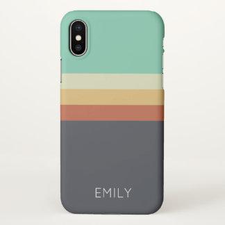 bold colors trendy modern fun cute iPhone X case