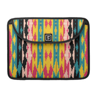 Bold Colors Tribal Aztec Sleeve For MacBooks
