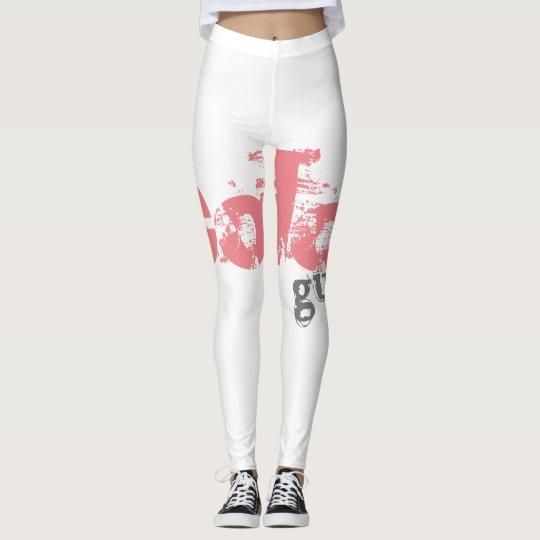 Bold Colour Guard Leggings fully Customizable