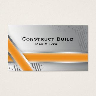 Bold Construction Automotive Business Card Stripe