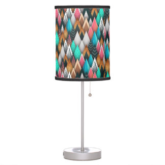 Bold Contemporary Abstract Desk Lamps