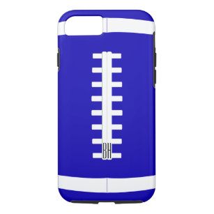 Bold Custom Team Colour & Letters Football Player iPhone 8/7 Case