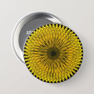 Bold Dandelion 3 Inch Round Button