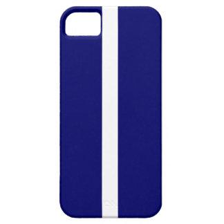 Bold Dark Blue Stripes iPhone 5 Cover