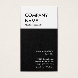 bold design your own business card