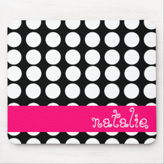 BOLD DOTS PERSONALIZED MOUSE PAD