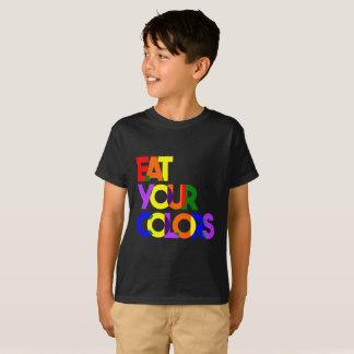 "Bold ""Eat Your Colors"" -Kids T-Shirt"