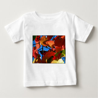 Bold Fall Leaves Baby T-Shirt