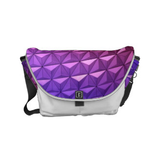 Bold Geometric Pattern for a Bold Woman Commuter Bag