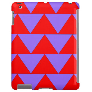Bold Geometric Pattern Triangle IPad Case