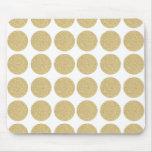 Bold Glitter Gold Polka Dots