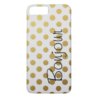 Bold Gold Polka Dots Case-Mate iPhone Case