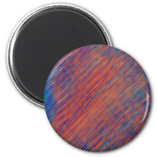 Bold Graphic with Calming Effect 2 Inch Round Magnet