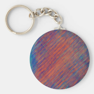 Bold Graphic with Calming Effect Basic Round Button Keychain