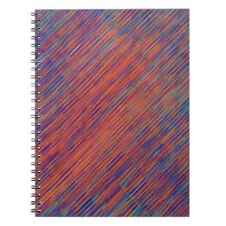 Bold Graphic with Calming Effect Spiral Notebook