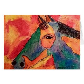 Bold Horse Card