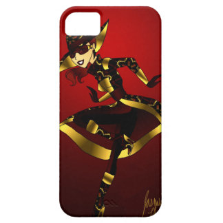 Bold In Red and Gold iPhone 5 Cover