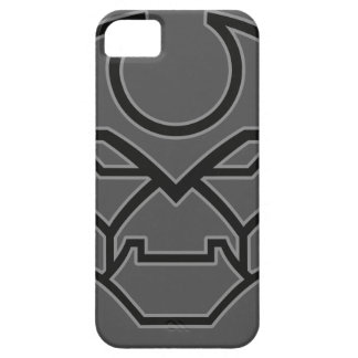 Bold Industrial Geometric Robot Face Symbol iPhone 5 Covers
