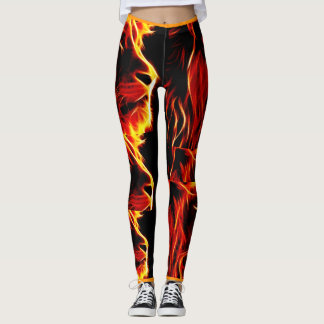 Bold lion leggings. leggings