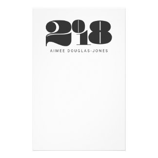 BOLD NEW YEAR STATIONERY