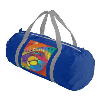Bold Organic Blue Gym Bag Life Scan